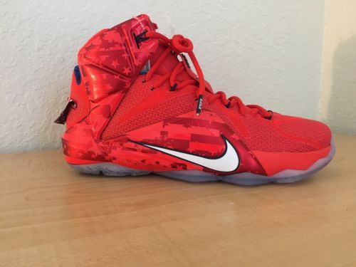 a78f247eea23 NIKE Lebrons the twelve size 10 (Retail price  150)