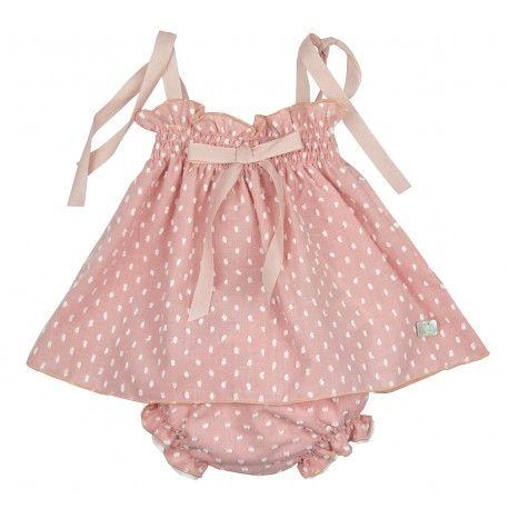c5ebb206e Jesusito rosa empolvado de la marca Eve Children en Vestidos para Bebé. No  te resistas y compra online la ropa para tu bebé