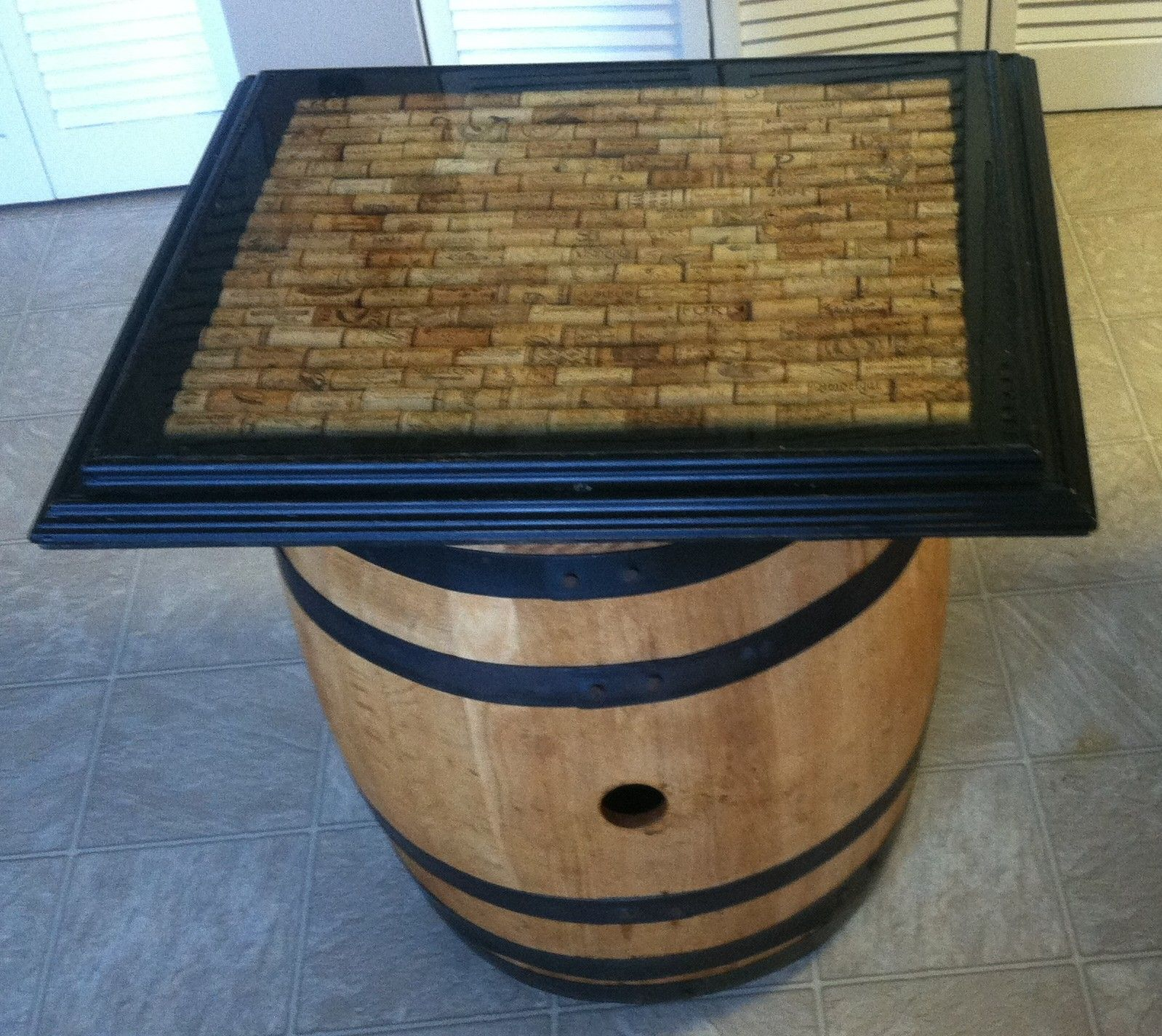 Wine Cork Table Design: Pin On Items Made Or Redone By Me