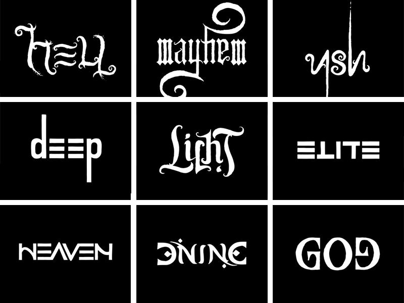 Ambigram Series Hexen Pinterest Ambigram Tattoo Ambigram