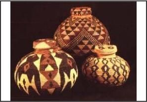 Love these traditional Zulu baskets