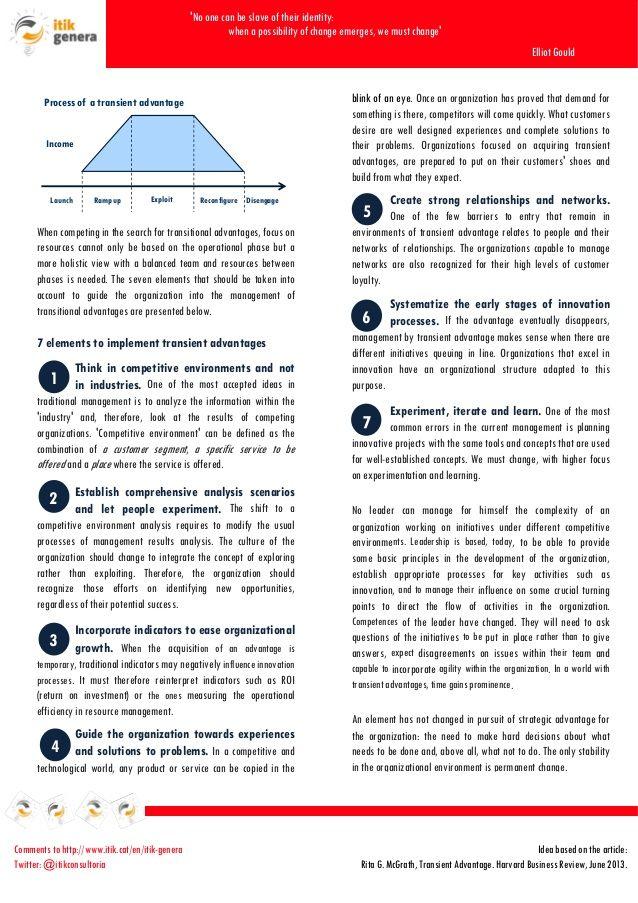 The End of Competitive Advantage by Rita McGrath pdf - Google Search