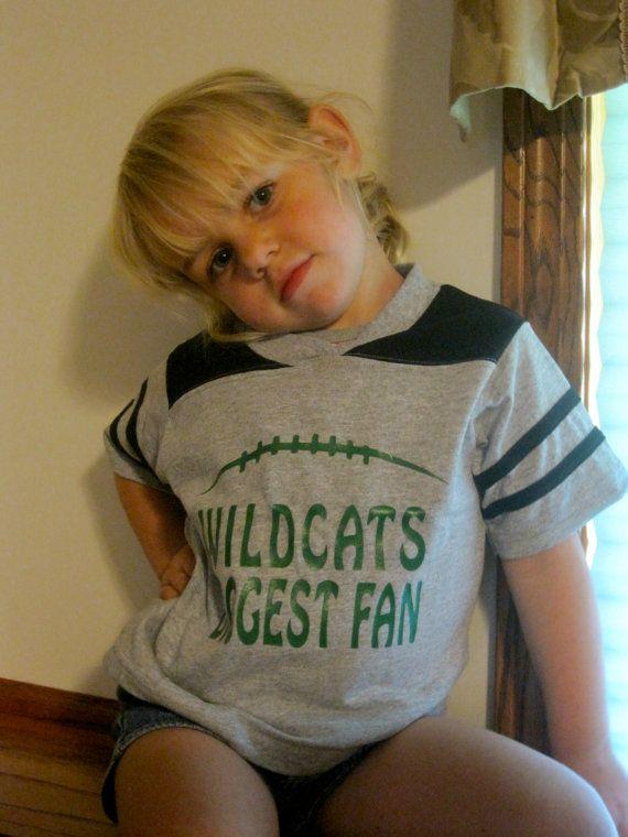 Custom Toddler Football Shirt Any team name Fanwear by ShirtsPlus, $14.99