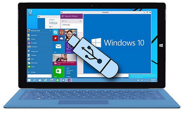 How to create USB recovery drive for Windows 10 Windows