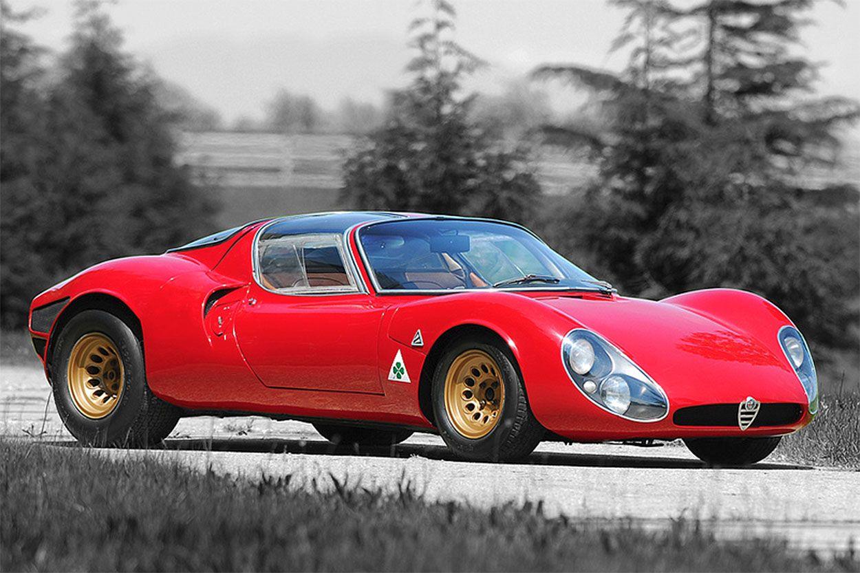 Alfa Romeo 33 Stradale (1967) Small sports cars, Retro