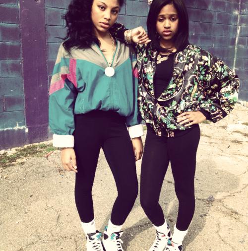 black girls 80 style tumblr - Buscar con Google | bestie ...
