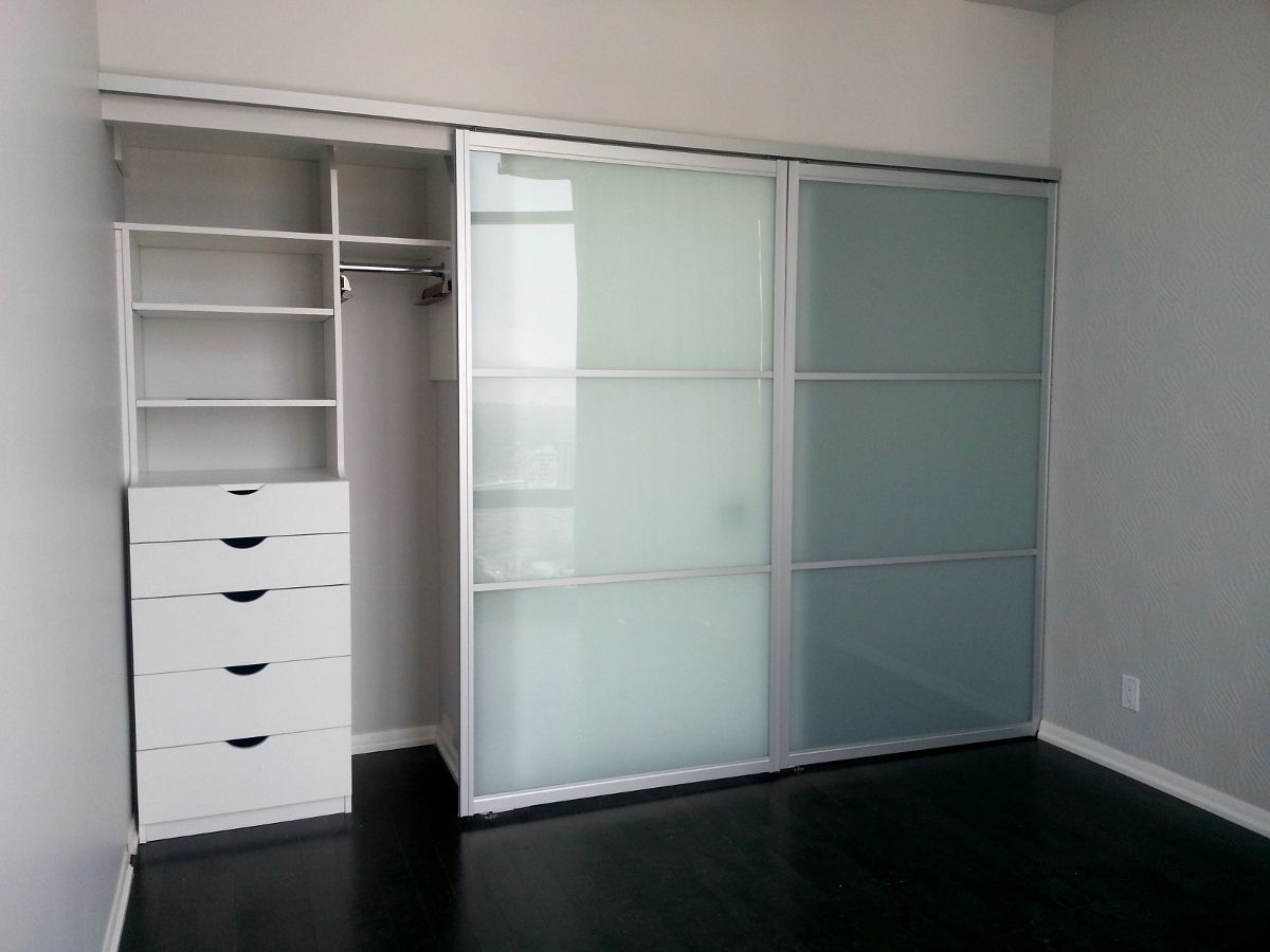 Clear Glass Sliding Closet Doors Httpsourceabl Pinterest