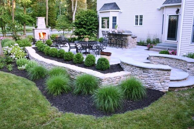 Gallery New Jersey Landscaping Photos Landscape Design In Nj Bernardsville Stonework Outdoor Backyard Landscaping Designs Backyard Patio Designs Backyard