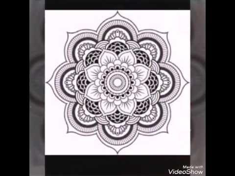 Mandalas faciles de hacer - YouTube diy Pinterest