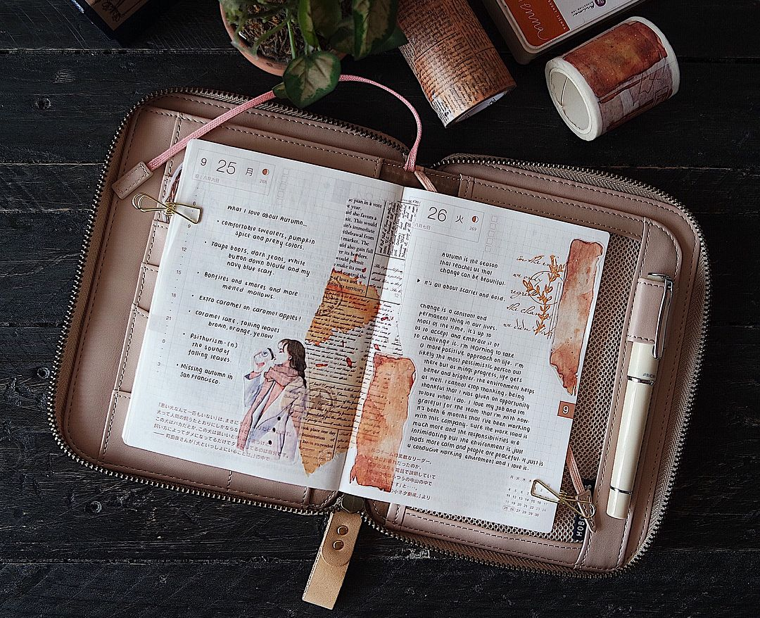 611 Likes 6 Comments Aina Kristina Aina Kristina On Instagram Now We Say Good Nigh Filofax Planners Bullet Journal Inspiration Stationery Organization