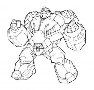 how to draw bulkhead transformers prime bulkhead step 20