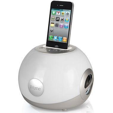 iHome® LED Color-Changing Portable Stereo - jcpenney