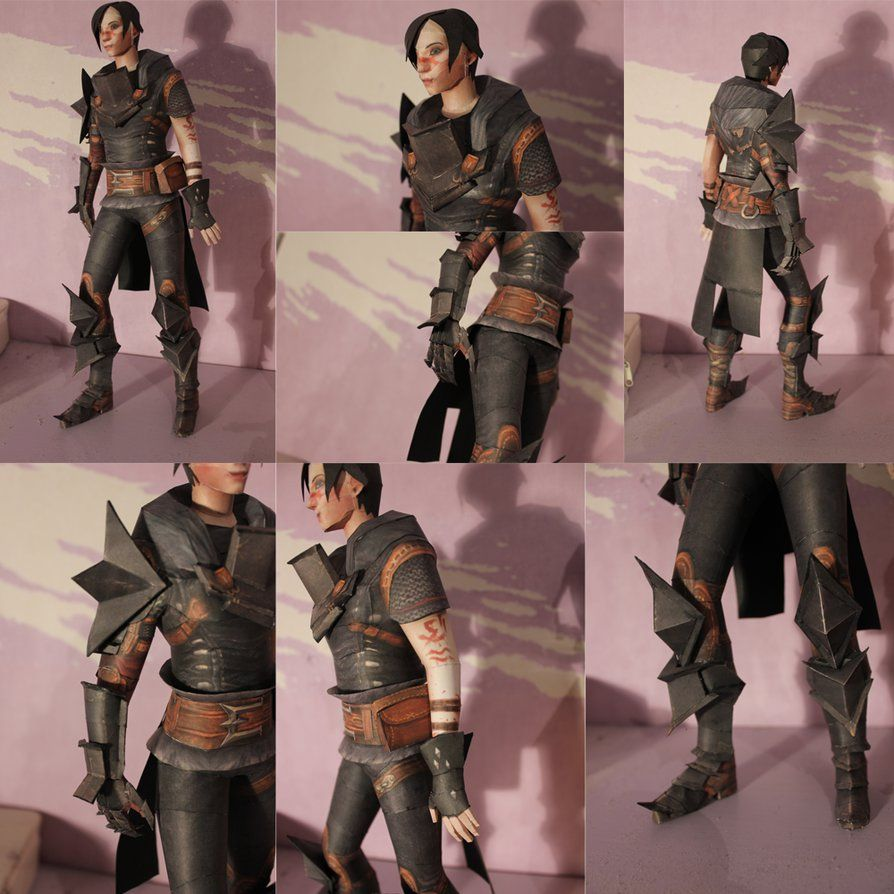 Hawke Papercraft Dragon Age Paper Models Dragon Dont use those ids, if you are playing skyrim for the first time. hawke papercraft dragon age paper