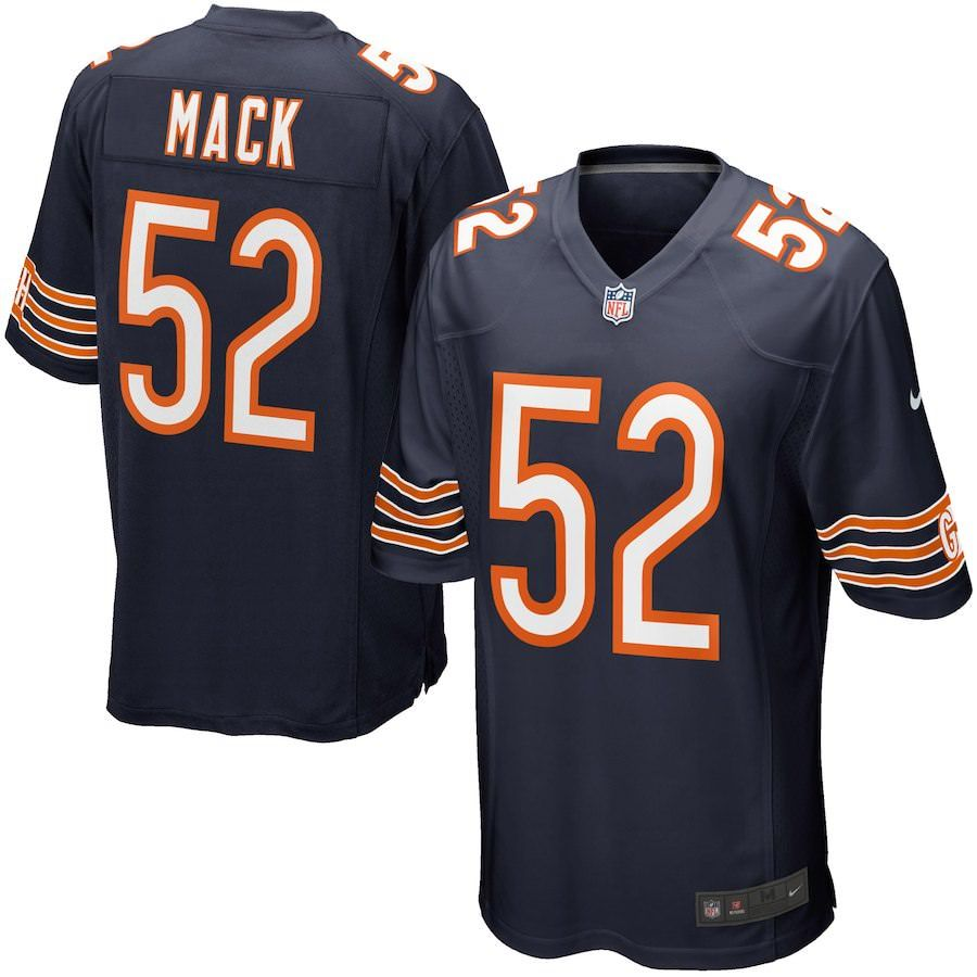 15e812a17 Khalil Mack Big   Tall Chicago Bears Jersey 3XL
