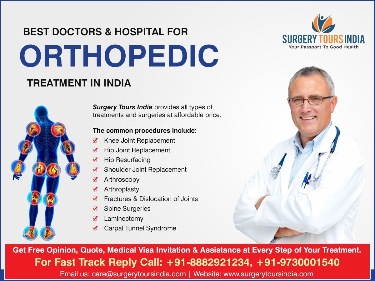Looking for #Orthopedic_Surgery_in_India cost in India? Find