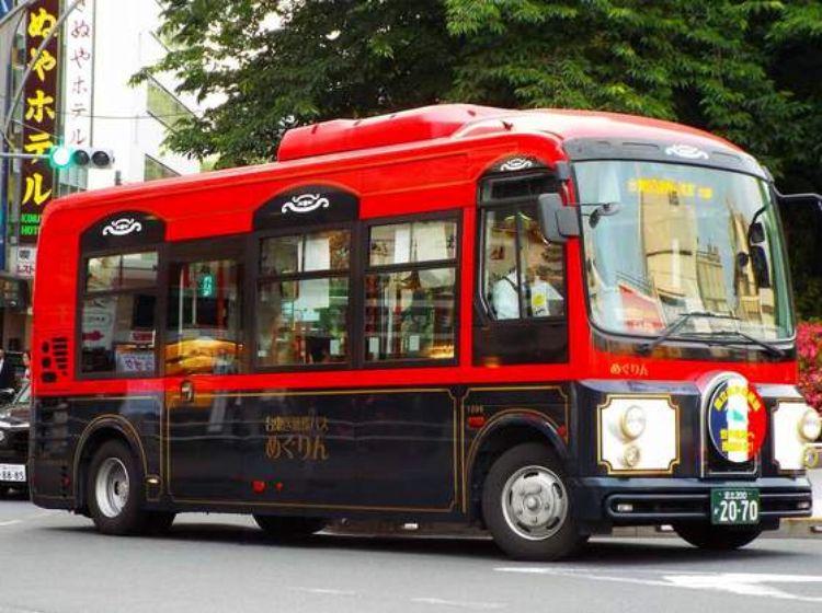 台東区循環バス めぐりん レトロバス ケーブルカー バス
