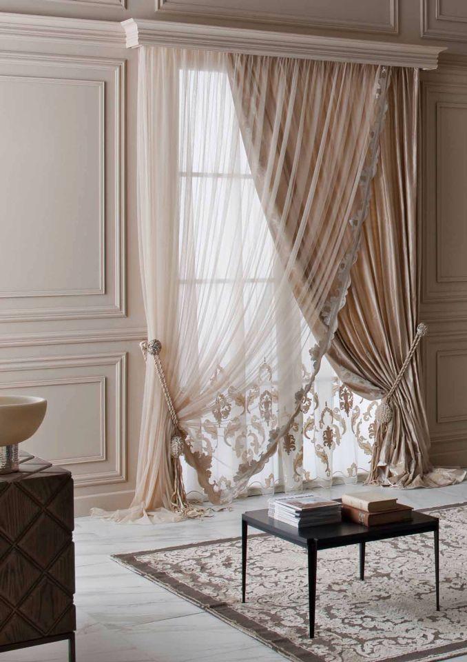 Elegant Mix of Curtains