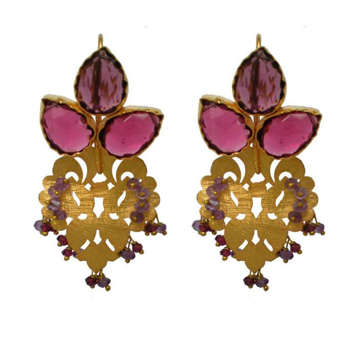 Indian but with a contemporary flair--Lakeisha Earrings