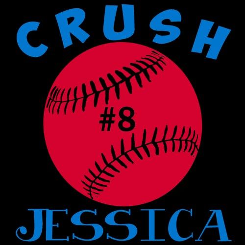2 Color Personalized Girls Softball Vinyl Car Decal Little League Softball Name And Number Custom Perosnalize Your Tea Car Decals Vinyl
