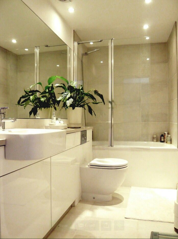Pin by V V on Ванная | Modern small bathrooms, Small ... on Nice Bathroom Designs For Small Spaces  id=65521