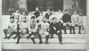 Pinkerton Academy football team, Derry, New Hampshire, 1896.