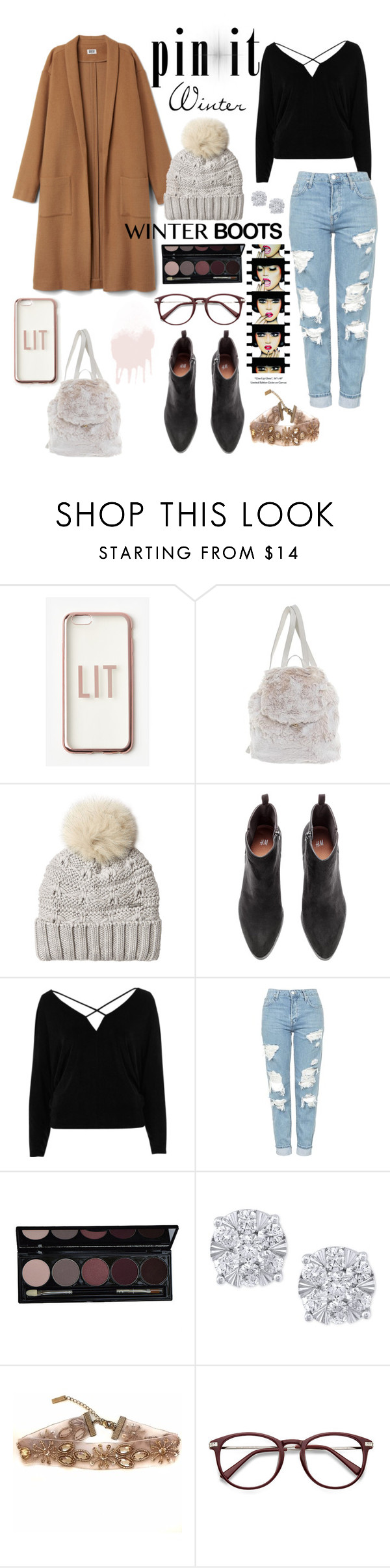 """^culture^"" by abigail-olson-1 ❤ liked on Polyvore featuring Missguided, Prada, Woolrich, River Island, Topshop, Anja and Effy Jewelry"