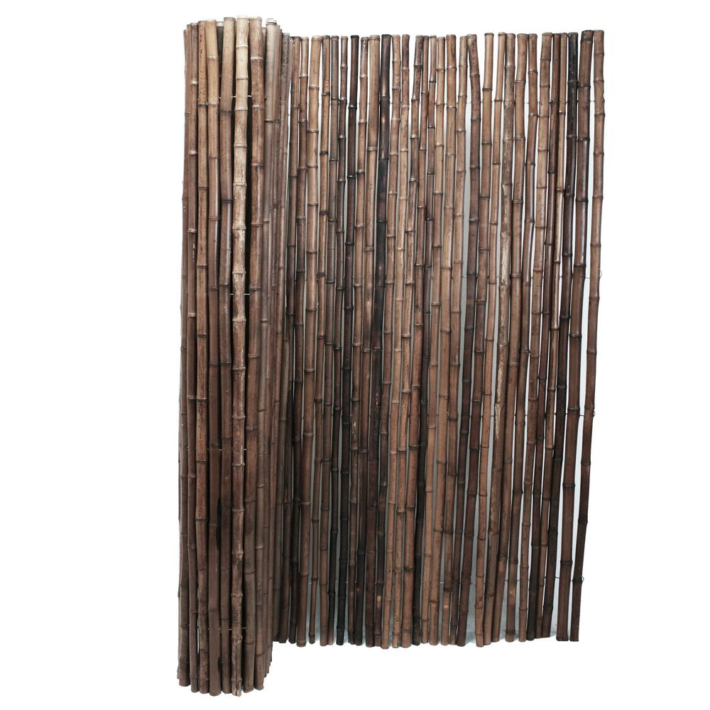 Backyard XScapes 1 in. D x 4 ft. H x 8 ft. W Carbonized