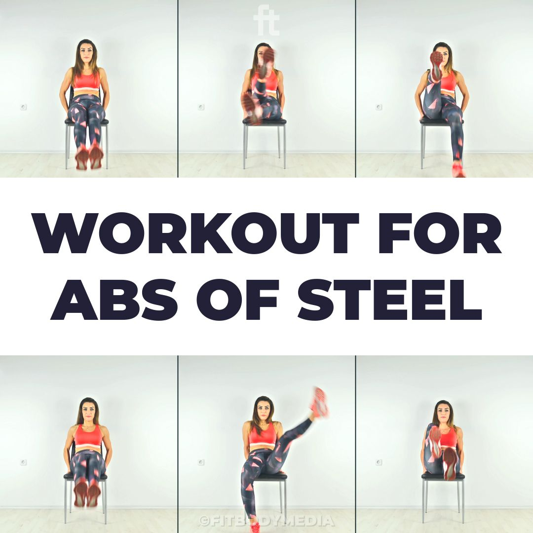 Workout for Abs of Steel #goodcoreexercises