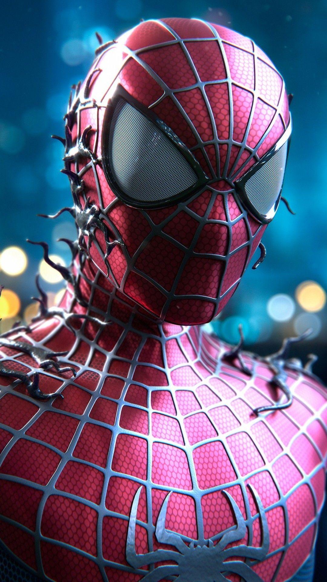 Mobile Wallpapers 4k Hombre Arana Comic Spiderman Personajes Spiderman Dibujos Animados