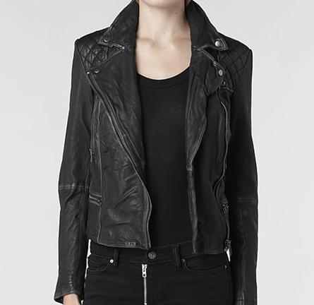 All saints black jacket