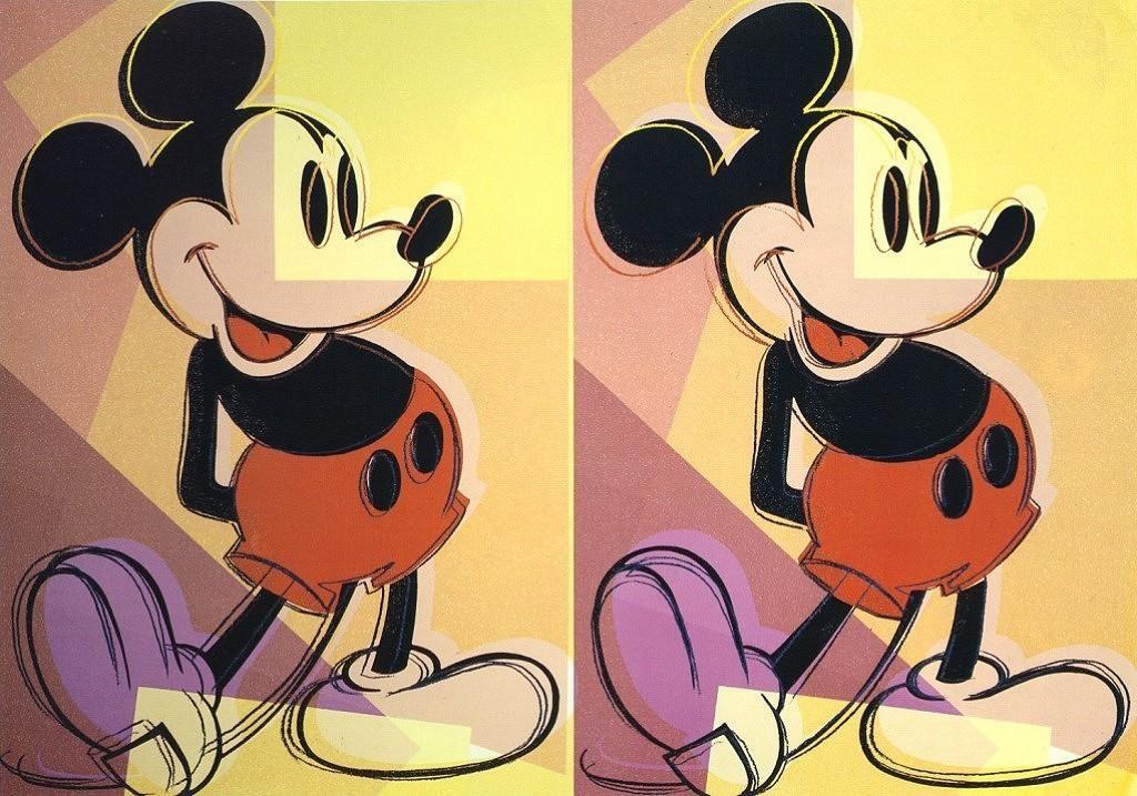 Mickey   Andy Warhol   Pop artist #60s