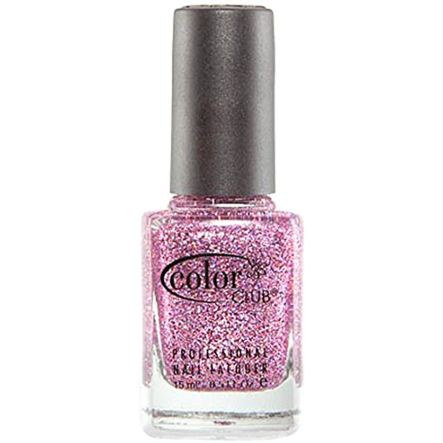 Color Club Mistletoe Glitters Nail Polish, Peppermint, Candy Cane ...