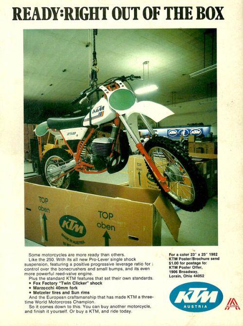 Motodude511 Ktm Ktm Dirt Bikes Vintage Motocross