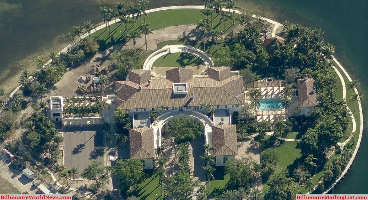 billionaire miami mansions from above – an aerial view | house