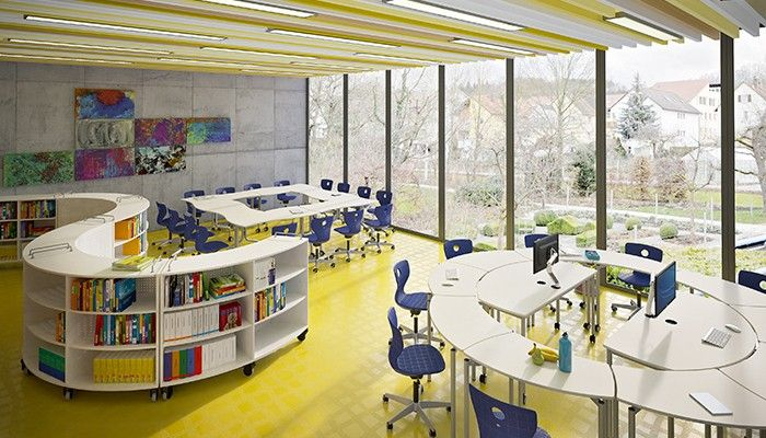 Classroom Environment Design Theory : Space interactive storage multiple work areas exciting