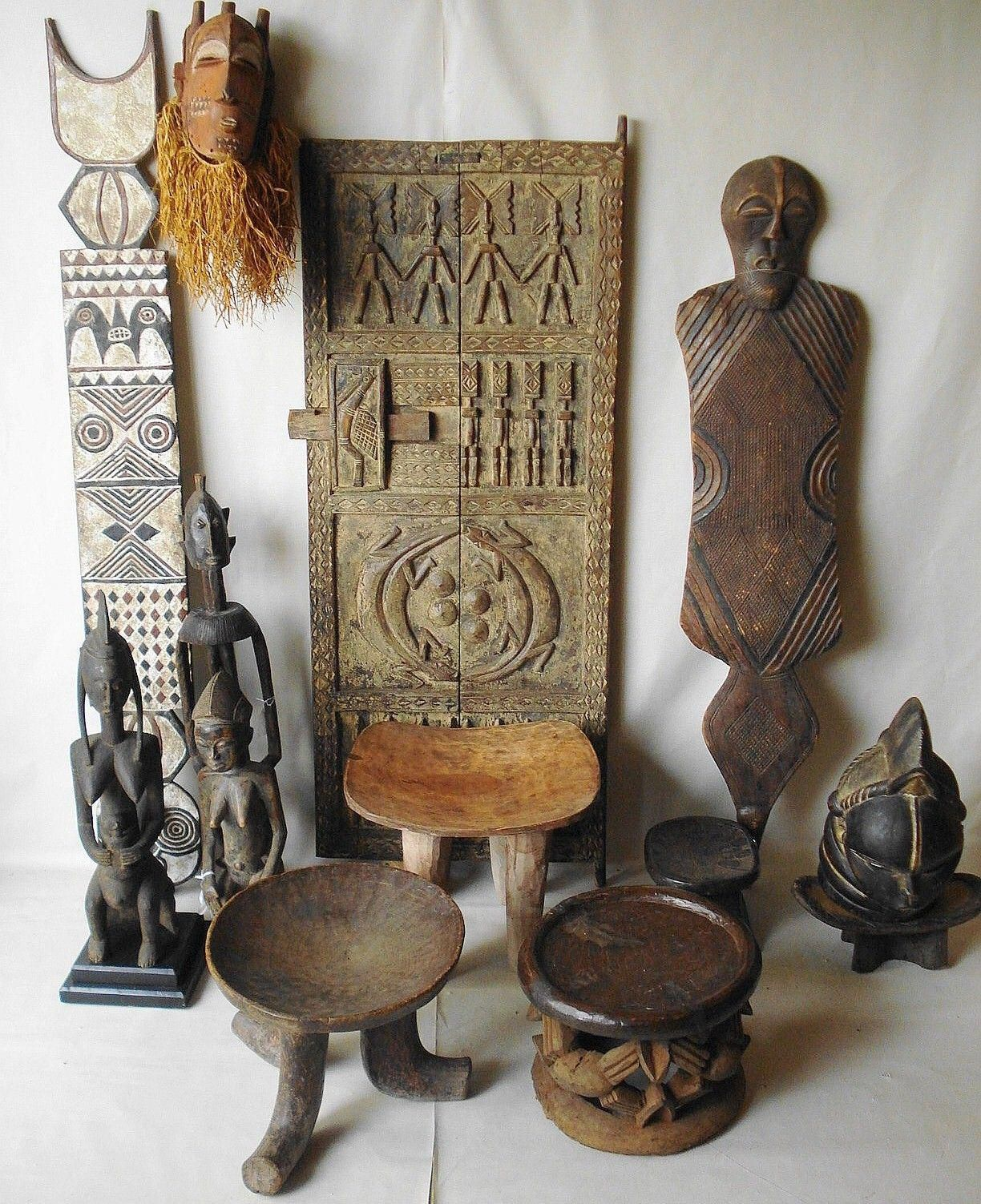 African Home Design African Home Decor Ideas With African: African Art At Ethnika #africanfurniture