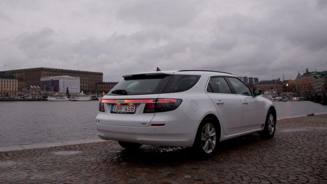 OG |Saab 9-5 SportCombi | Prototype dated 2012