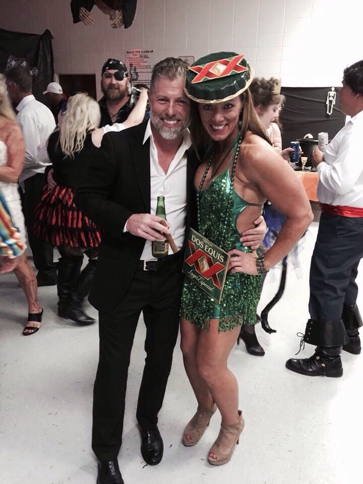 Dos Equis costume! The most interesting man in the world and his