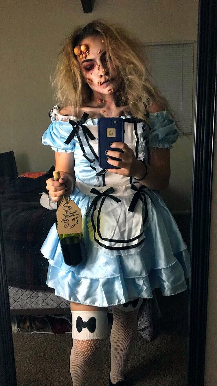 Yesterday's Costume as Poisoned Alice for a costume