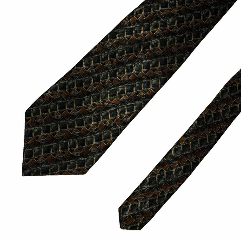 185817c2a126 Robert Talbott Best of Class Necktie Tie Silk Unique Multicolor Hand Sewn  In USA #fashion
