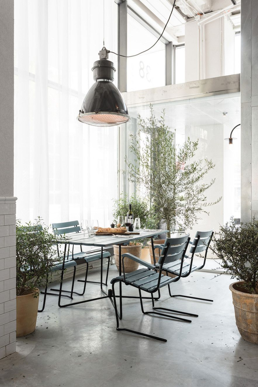 Usine in Stockholm's Södermalm neighborhood is 2000-square-meter taste of sophistication housed in a former sausage factory.