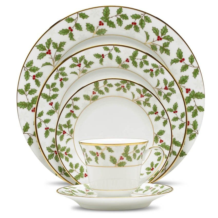 Holly And Berry Gold Christmas Tableware Christmas Dinnerware Gold Dinnerware