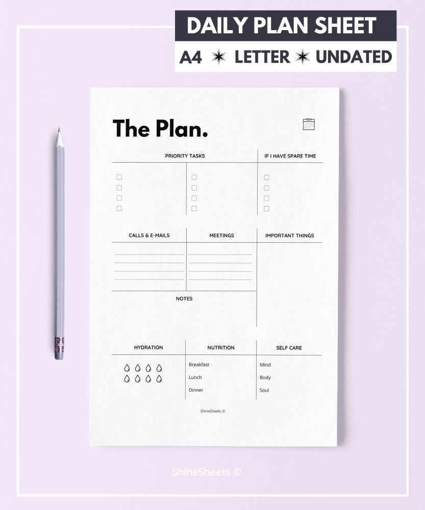 323 Pages Ultimate Printable Super Pack is part of Agenda planner printable, Daily agenda planner, Daily planner sheets, Daily planner, Planner sheets, Daily planner printable - With this Super Pack, you get 43 items, a total of 323 pages  all designed to help you achieve a better life  SAVE 126$ just by choosing this Pack instead of separate products! Buy now