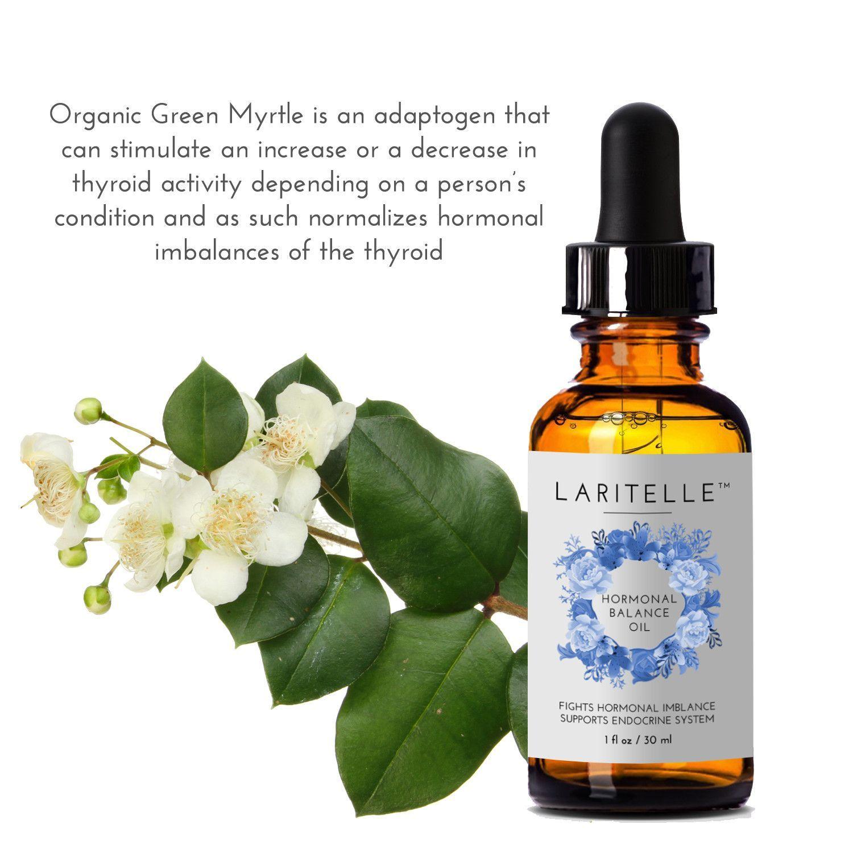 Laritelle Organic Hormonal Balance Oil 1 Oz