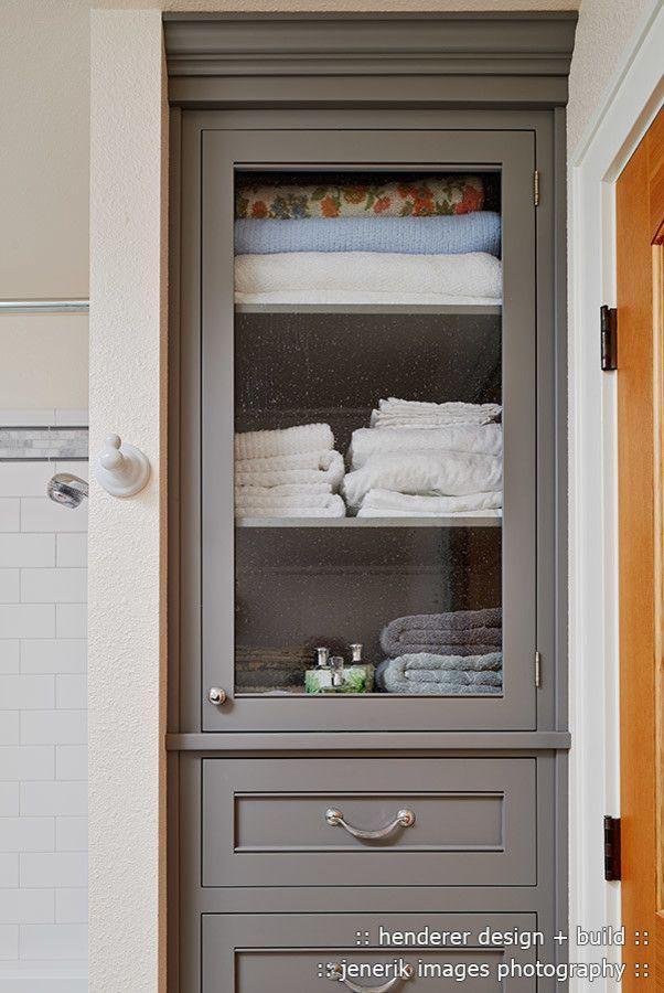 Badezimmer Wäscheschrank Ideen #Badezimmermöbel #dekoideen ...