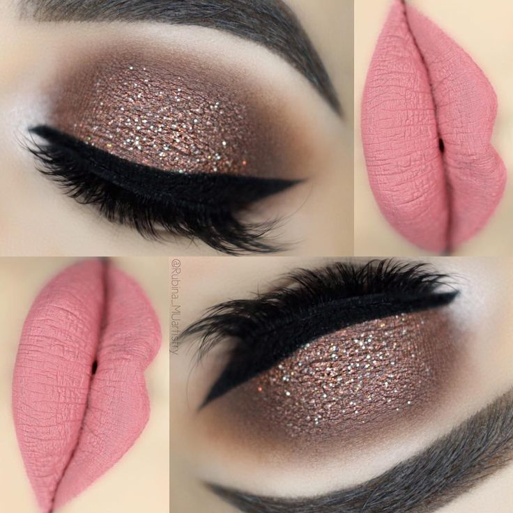 25 Simple Glitter Eyes MakeUp Ideas – Pantala – Fashion, Magazin, Bild Pin Blog