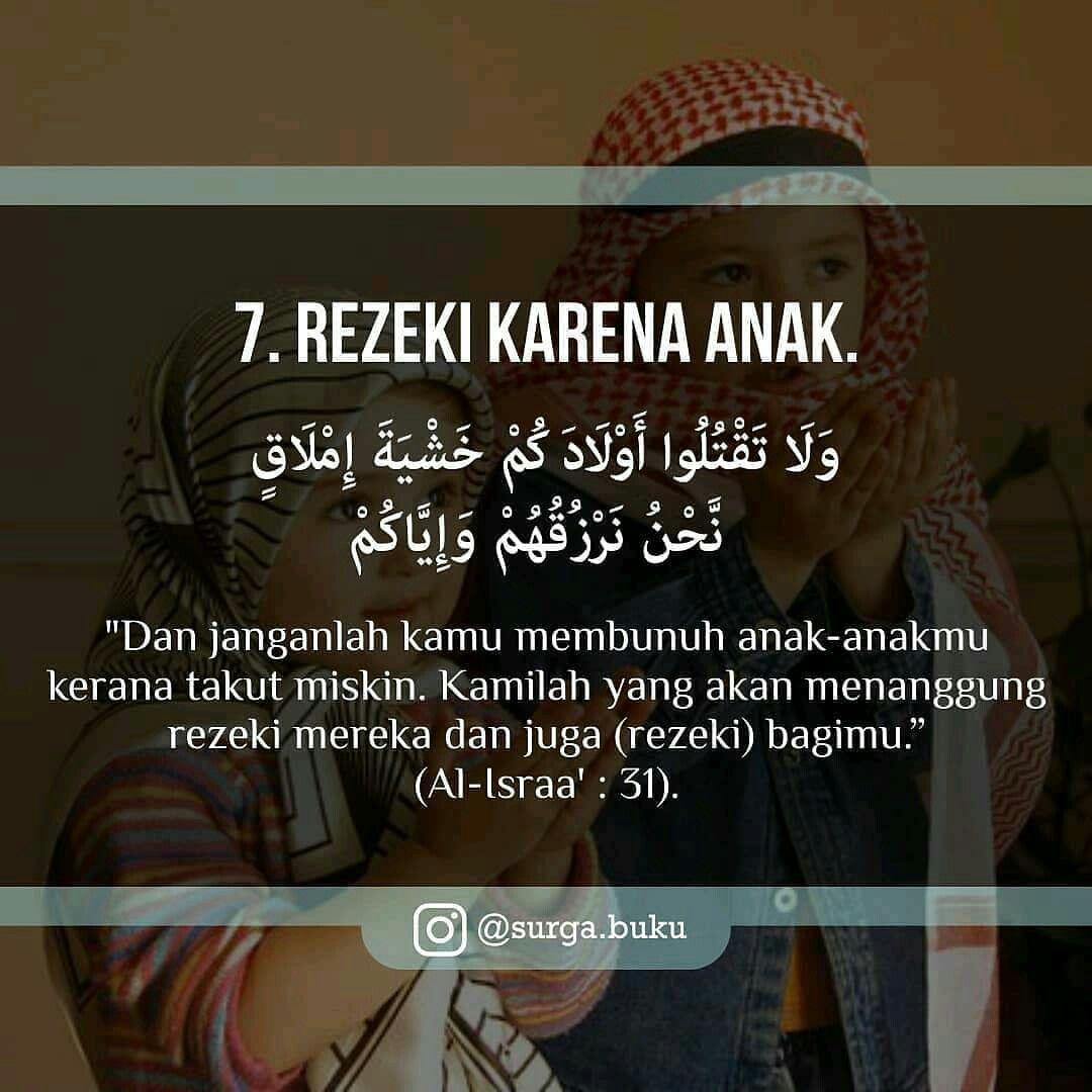 8 Jenis Rezeki Dari Allah 7 Quran Kutipan Inspiratif Kutipan