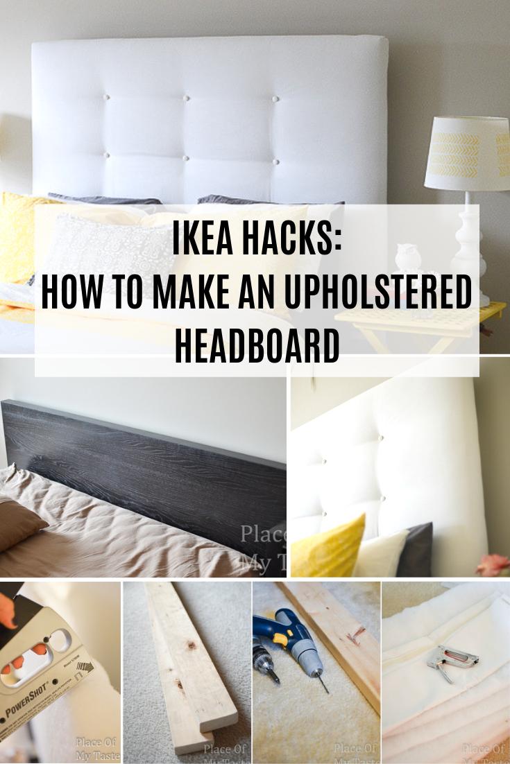 Ikea Hacks A Diy Upholstered Malm Headboard Diy Home Decor