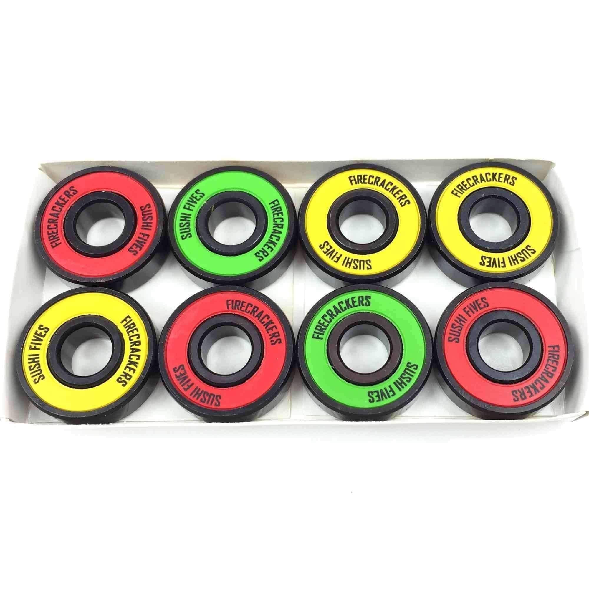 Sushi Skateboard Bearings Firecracker Fives