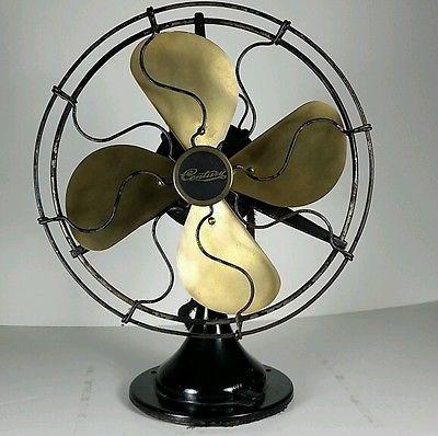 Vintage Century 10 Brass Blade Oscillating Fan Oscillating Fans Vintage Fans Fan